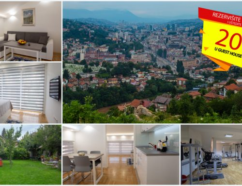 Doživite Sarajevo Film Festival u novootvorenom Guest House Hendek!